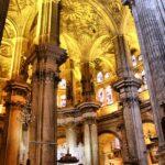 Bóvedas nervadas en la Catedral de Málaga