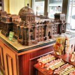 Maqueta de chocolate del Reichstag en Fassbender & Rausch en Berlín