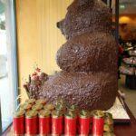Escultura de chocolate en Fassbender & Rausch en Berlín