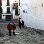 Escalinata de la Cuesta del Bailío en Córdoba