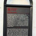 Cartel informativo en la Cuesta del Bailío en Córdoba