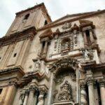 Fachada oeste de la Basílica menor de Santa María en Elche