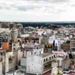 Vistas panorámicas de Elche desde la Torre de la Basílica menor de Santa María