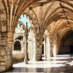 Galería de la segunda planta del Claustro del Monasterio de los Jerónimos de Belem en Lisboa