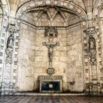 Sala Capitular del Claustro del Monasterio de los Jerónimos de Belem en Lisboa