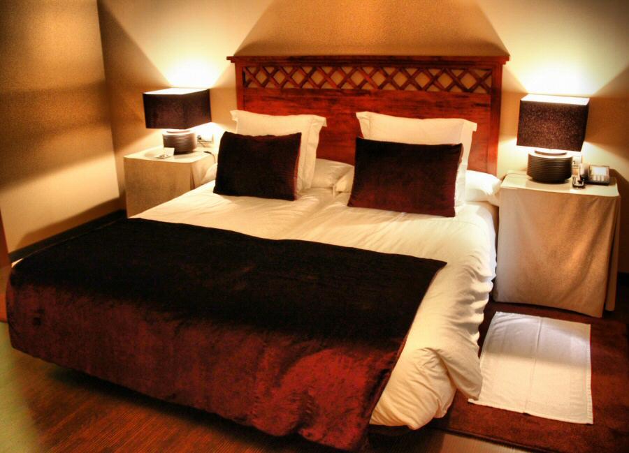 Habitación del hotel La Joyosa Guarda de Olite