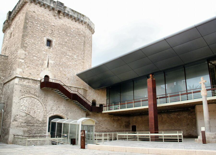 Instalaciones del MAHE Museo Arqueológico de Elche