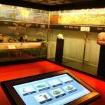 Sala de exposición en el MAHE Museo Arqueológico de Elche