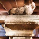 Columna romana en el MAHE Museo Arqueológico de Elche