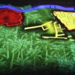 Representación de la evolución urbanística de Elche en el MAHE Museo Arqueológico