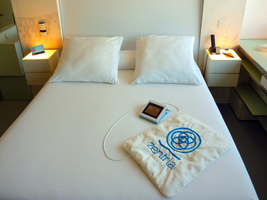 Sistema de relajación RelaxArt en Hoteles Silken para facilitar el sueño