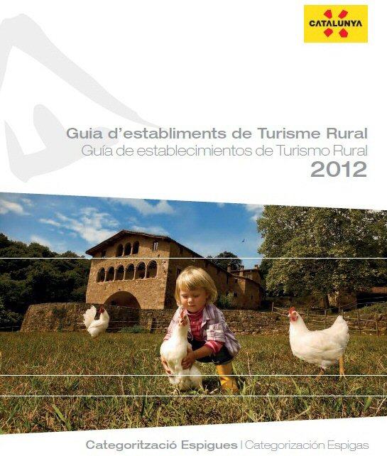 Guiía de establecimientos de turismo rural de Cataluña