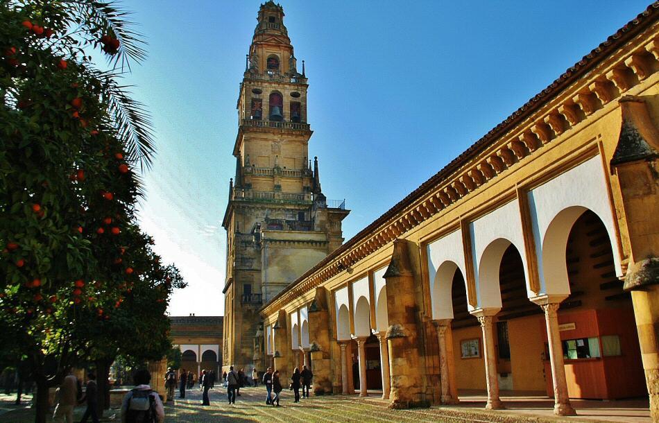 Patio de los Naranjos en Mezquita de Córdoba
