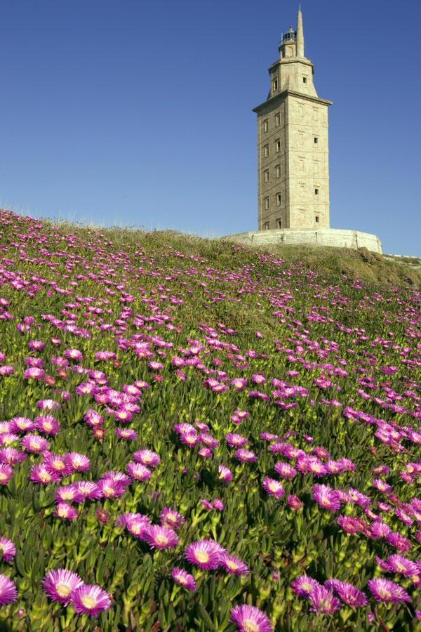 Torre de Hércules en A Coruña. Foto: Xosé Castro