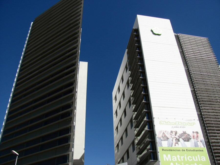 Residencia Melon District Marina en Barcelona