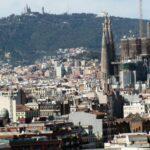 Vistas panorámicas de Barcelona desde la residencia Melon District Marina
