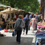 Mercadillo en el barrio turco de Kreuzberg en Berlín