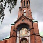 Iglesia en el barrio turco Kreuzberg de Berlín