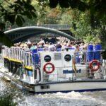 Crucero por canal del barrio turco Kreuzberg de Berlín