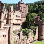 Ruinas del Castillo de Heidelberg en Alemania
