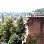 Torreón Volado en el Castillo de Heidelberg en Alemania