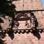 Torre de la Portada en el Castillo de Heidelberg en Alemania