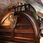 Gran barril en el Castillo de Heidelberg en Alemania