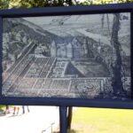 Plano de los antiguos jardines del Castillo de Heidelberg en Alemania