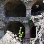 Rincón en ruinas en el Castillo de Heidelberg en Alemania
