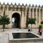Muralla musulmana junto a la Judería de Córdoba