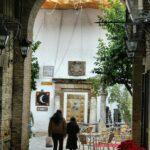 Entrada a la Judería por la Muralla musulmana de Córdoba