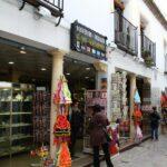 Tiendas de souvenirs en la Judería de Córdoba