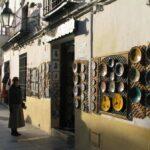 Tienda de artesanía junto a la Mezquita de Córdoba