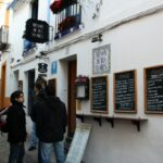 Bar de tapas en la Judería de Córdoba