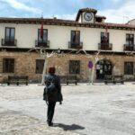 Plaza del Ayuntamiento de Covarrubias en Burgos