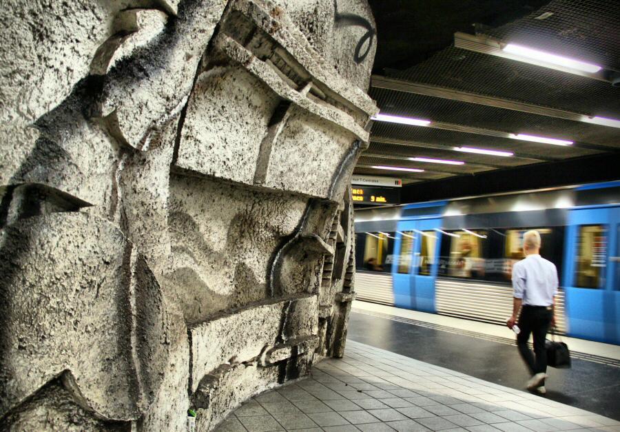 Consejos para visitar estocolmo gu as viajar - Metro de estocolmo ...