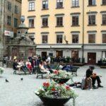 Plaza Stortorget de Gamla Stan, ciudad vieja de Estocolmo