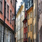 Rincón de Gamla Stan, ciudad vieja de Estocolmo
