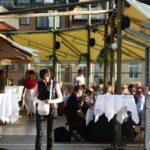Cafetería restaurante del Ascensor Katarina en Estocolmo