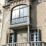 Fachada de casa de la plaza Mayor de Plasencia en Extremadura