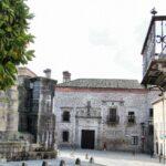 Plaza de la Catedral en Plasencia en Extremadura