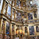 Retablo del altar mayor de la Catedral Nueva de Plasencia en Extremadura