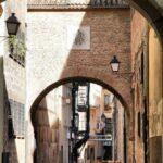 Pasaje del Convento de la Encarnación de Plasencia en Extremadura