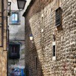 Pasaje en el centro histórico de Plasencia en Extremadura