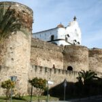 Muralla medieval de Plasencia en Extremadura