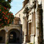 Iglesia del Convento de San Vicente Ferrer en Plasencia en Extremadura