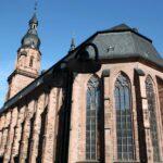 Iglesia del Espíritu Santo en la plaza del Mercado de Heidelberg