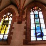 Vidrieras en la iglesia del Espíritu Santo de Heidelberg