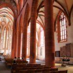 Interior de la iglesia del Espíritu Santo de Heidelberg