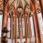 Abside de la iglesia del Espíritu Santo de Heidelberg